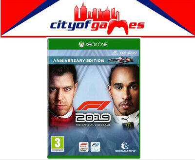 F1 2019 Anniversary Edition Xbox One Game Brand New In Stock