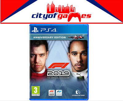 F1 2019 Standard Edition PS4 Game Brand New