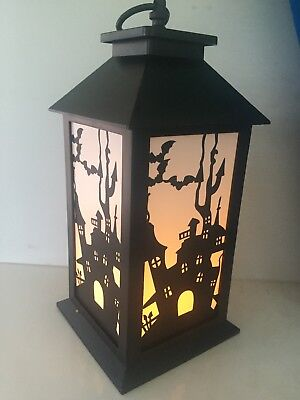 Set of 2 Color Changing Lighted Halloween Lanterns by Gerson 2353750