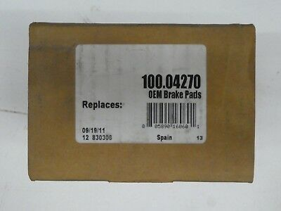 D645 FITS VEHICLES LISTED ON CHART BRAND NEW ATE FRONT BRAKE PADS 100.06450