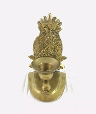 Pineapple Vintage Solid Brass Small Candle Holder Made In India Wall Decor Table