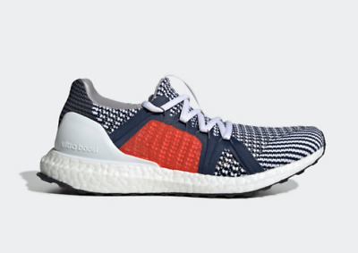 92403a0d5 New Adidas Stella McCartney Ultra Boost S. Sneakers F35902 Ultraboost White  Red