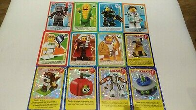 Sainsburys LEGO Incredible Inventions Single Cards 2018 Select your choice
