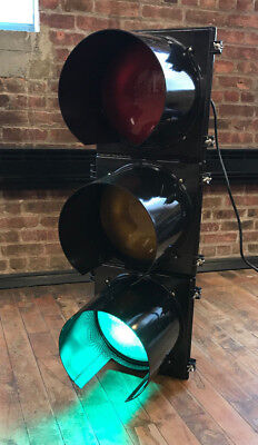 Official Traffic Light - All Black - Brand New  - Wired W/ Controller & Ge Leds!