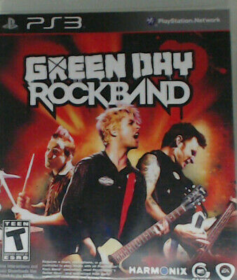 Green Day: Rock Band (Sony PlayStation 3, 2010)