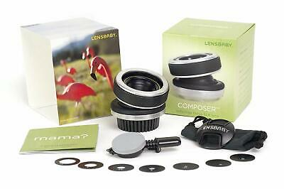 LENSBABY Composer Lens for Canon EF EOS DSLR Camera Whole Kit Barely Used
