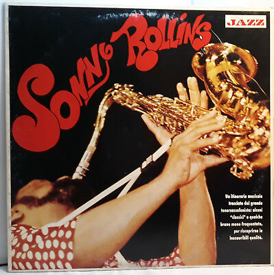 SONNY ROLLINS Musica Jazz MINT 1990 vinyl record LP disco vinile Long Playing