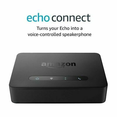 Amazon Eco Conectar Inteligente Asistente - Negro