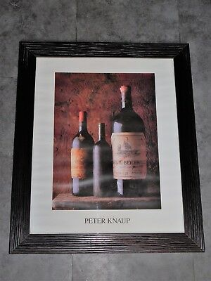 Photo Peter Knaup Vins Chateau Beychevelle   48.5Cmx58.5Cm  Loft Collection