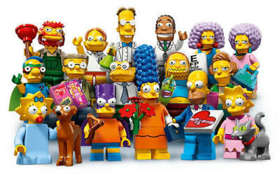 Lego Figurine Minifigure The Simpsons 2 - Série 71009 - Choose Minifig -Au choix