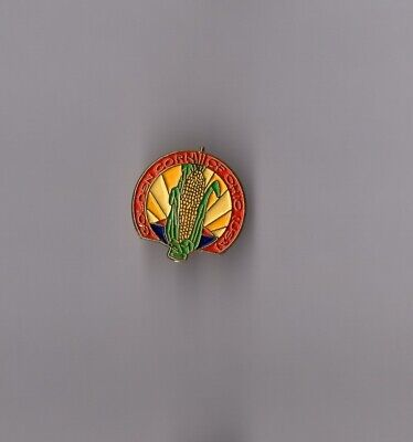 pin's alimentation maïs / golden corn of Ohio (USA) hauteur: 2 cm