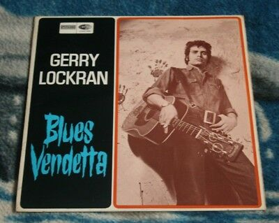 Gerry Lockran Blues Vendetta  1967 Uk Lp Waverley Zlp 2091