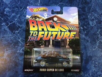 Hot Wheels Premium 2019 Ford Super De Luxe Back to the Future Manure Real Riders