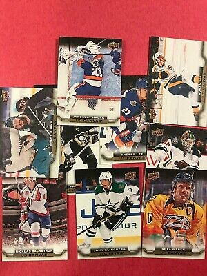 2015-16 Upper Deck Ud Canvas Series 1 & 2 Base Cards U-Pick - Free Shipping