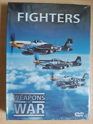 Fighters - Weapons Of War [ Book + DVD ] Multi Region, BRAND NEW & SEALED