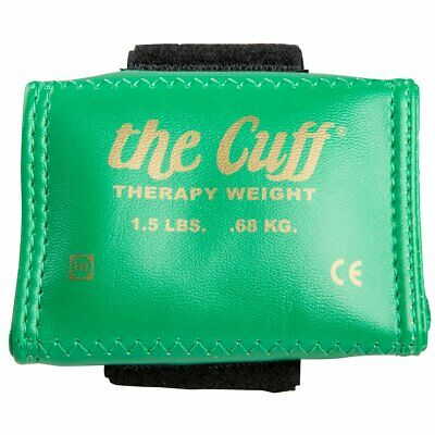 THERAPY WEIGHT 10 LB 4.55 KGS CANDO THE CUFF BROWN ANKLE AND WRIST
