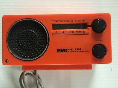 EMI Bolero Solid State Radio - Model 2287
