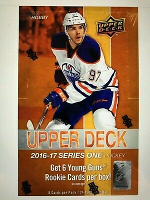 2016-17 Upper Deck Young Guns U-Pick Finish Your Set - Free Shipping