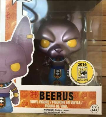 POP Dragon Ball Z BEERUS #120 New Vinyl Action Figure LIMITED QTY