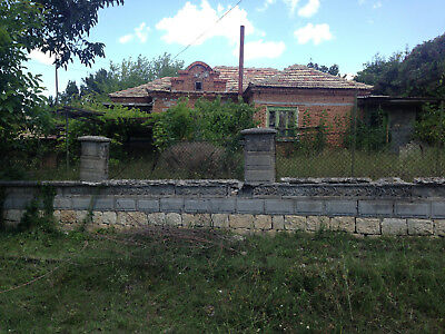 Property home real estate 1990 sq.m. plot Black Sea Varna area overseas Bulgaria