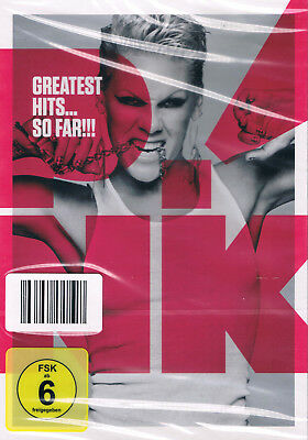 Pink - Greatest Hits...So Far !!! - DVD - 2010 - Neu & OVP - Alle Hits