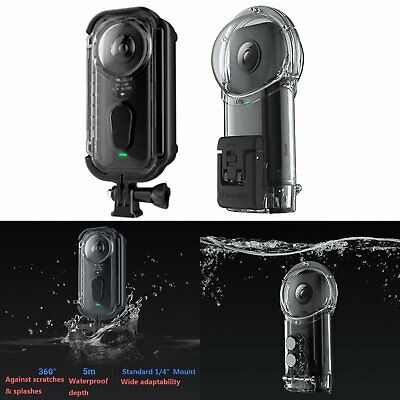 For Insta360 ONE X Action Camera Diving Case Underwater Cover Housing Waterproof