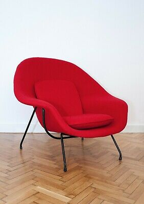 KNOLL Very Early Saarinen Womb Chair Red