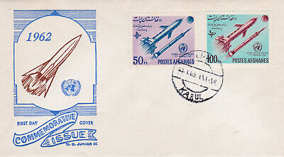AFGHANISTAN 1962 - FDC Mi.732/33A - The World Meteorology Day