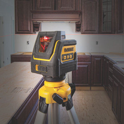 NEW dewalt DW0811 Self Leveling 360 Degree Line and Vertical Line