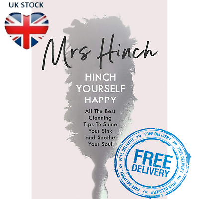Mrs Hinch Hardcover Book Hinch Yourself Happy All Best Cleaning Tips Shine