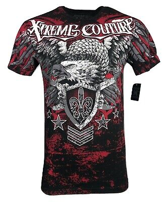 XTREME COUTURE by AFFLICTION Men T-Shirt NORMANDY Tatto Biker MMA UFC S-3X $40