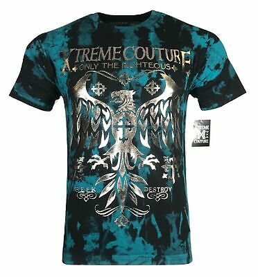 XTREME COUTURE by AFFLICTION Men T-Shirt STEEL MILL Biker MMA UFC S-4X $40