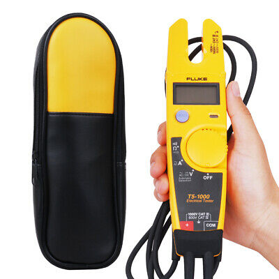 Fluke T5-1000 with Labloot  Holster Voltage Continuity Current Clamp Meter