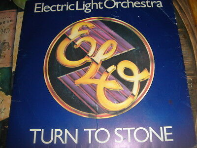 ELECTRIC LIGHT ORCHESTRA ( E.L.O. ) . TURN TO STONE . 1977 Classic .EX  1970's