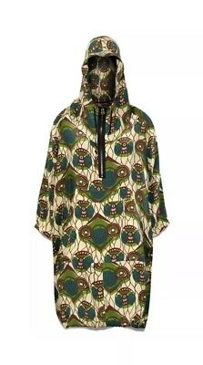70af67aea3e MARNI X @ H&M HM V RARE SILK DRESS PARKA HOODY Sold Out UK 6 (8 10 ...