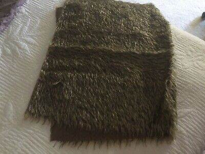 German Brown Black Tip Mohair