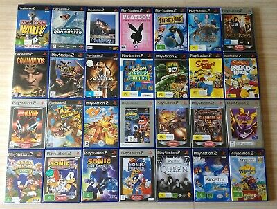 Ps2 Sony Various Assorted Playstation 2 Games ~ *Choose From The Drop Down Menu*