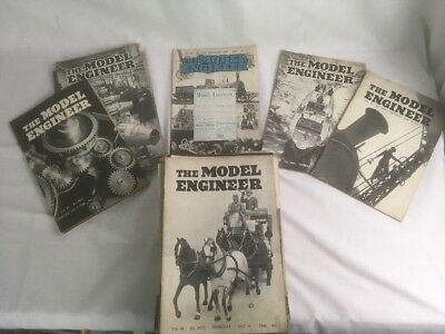 The Model Engineer Magazines X66 1940s & 50s Vintage Ideal For A Museum