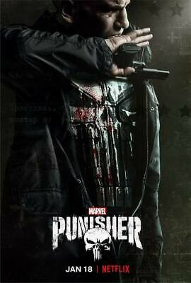 """24045 Hot Movie TV Shows - The Punisher Season 2 1 14""""x20"""" Poster"""