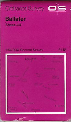 Ordnance Survey Landranger Map Sheet 44 Ballater OS