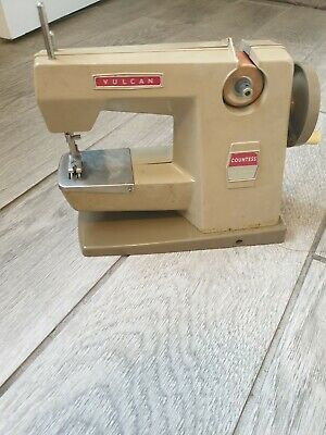Vintage Vulcan Minor Childs Sewing Machine with Box