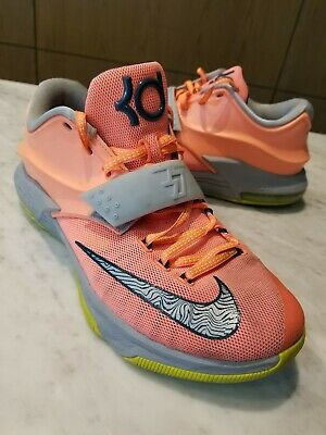 ed8d331b15f7 NIKE ZOOM KD 7 VII EXT FLORAL QS Kevin Durant 726438-400 Mens size ...