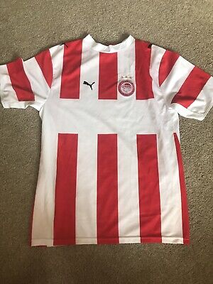 Olympiacos vintage football shirt men's Small
