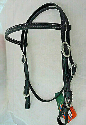 Horse Bridle Biothane Browband Headstall Tack Reins 40HS73