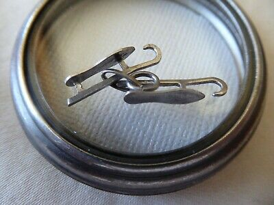 Vtg Sterling Pair of Old Fashioned Ice Skates Charm
