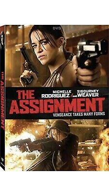 THE ASSIGNMENT New Sealed DVD Walter Hill Michelle Rodriguez Sigourney Weaver