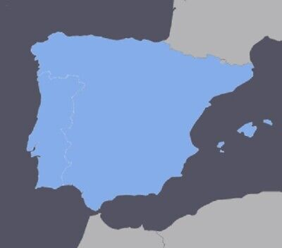 SPAIN AND PORTUGAL GPS NAVIGATION MAP 2020 10 for GARMIN