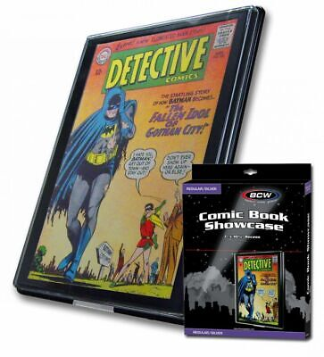 New Bcw 5 Silver Age Comic Book Showcase Display Art Frame Case Free Shipping