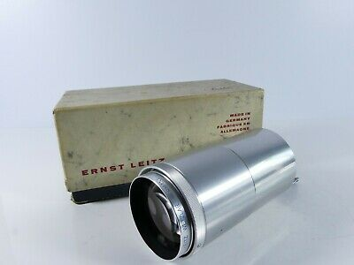 Genuine Leica Leitz 250Mm Projector Projection Lens Plus Mount Boxed  J