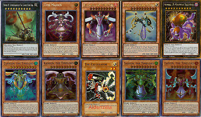 Yugioh Timelord Fairy Deck - Sephylon Metaion Time Maiden Lazion Sadion